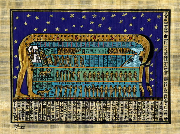 Egypte - New Thebes Papyrus Institute